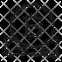 Btc Bitcoin Cryptocurrency Icon