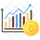 Bitcoin Analysis Financial Analytics Financial Chart Icon