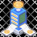 Bitcoin Tech Btc Technology Crypto Technology Icon