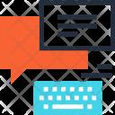 Bubble Chat Communication Icon