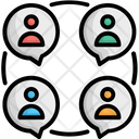Bubble Chat Bubble Focus Group Icon