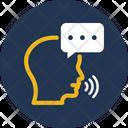 Bubble Speaking Speech Icon