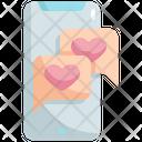 Bubble Chat Mobile Icon