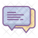Bubble Chat Feedback Icon