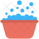 Soap Bubbles Bathtub Icon