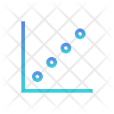 Bubble Chart Scatter Chart Scatter Plot Icon