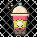 Bubble Tea Coffee Cup Tea Cup Icon