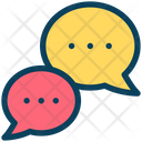 Bubbles Chat Chatting Communication Icon