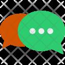 Bubbles Talk Chat Icon