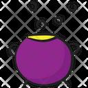 Caldron Cooking Pot Halloween Pot Icon