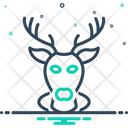 Buck Deer Stag Icon