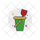 Toy Bucket Shovel Icon