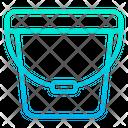 Water Bucket Bathroom Equipment Icon