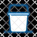 Bucket Pail Water Bucket Icon