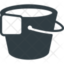 Bucket Clean Floor Icon