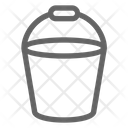 Bucket Construction Equipment Icon