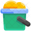 Bucket Sand Shovelt Icon