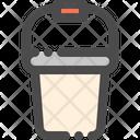 Bucket Container Plastic Icon