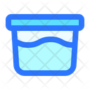 Bucket Basket Laundry Icon