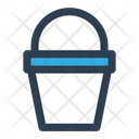 Bucket Cleaning Housekeeping Icon