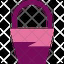 Bucket Basket Paint Icon