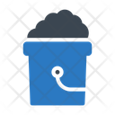 Bucket Cleaning Dusting Icon