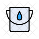 Bucket Water Cleaning Icon