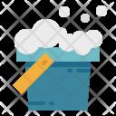Bucket Bubble Washing Icon