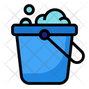 Bucket Cleaning Soap Icon