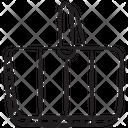 Bucket Basket Grocery Basket Icon