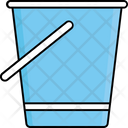Bucket Cleaning Household Icon