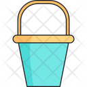 Bucket Toy Beach Icon
