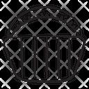Bucket Basket Hamper Icon