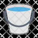 Bucket Water Construction Icon