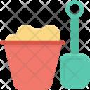 Bucket Construction Tool Icon