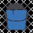Bucket Soap Bubble Icon