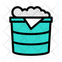 Bucket Laundry Cleaning Icon
