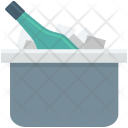 Bucket Cooler Champagne Icon