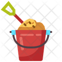 Bucket Sand Kid And Baby Icon
