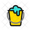 Bucket Cleaning House Icon