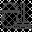 Rag Wiper Basket Icon