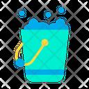 Bucket Detergent Foam Icon