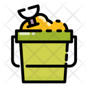 Bucket of sand Icon