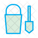 Bucket Shovel Icon