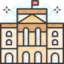 Buckingham Palace London Townhouse Icon
