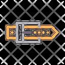 Buckle Belt Cloth Icon