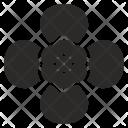 Bud Flower Plant Icon