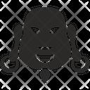 Fat Man Head Icon