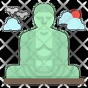Buddha Great Daibutsu Icon