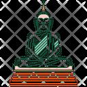 Buddha statue Icon